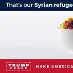 Cukorkához hasonlították a menekülteket Trump kampányában
