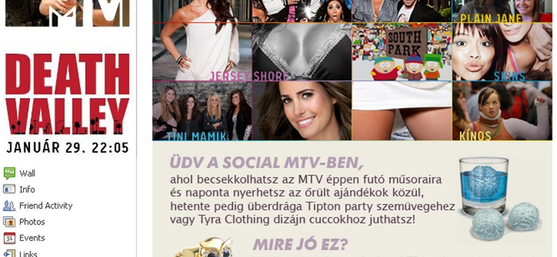 A magyar MTV online is magához köti a fiatalokat