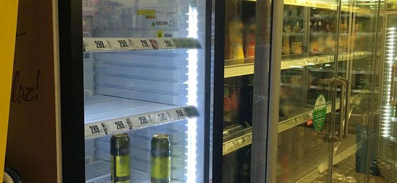 Száműzné a boltokból az üres polcokat egy magyar ötlet
