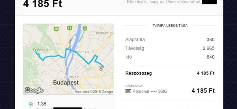 Új szolgáltatással rukkolt elő Budapesten az Uber