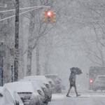 Újabb hideghullám csapott le az USA-ra, van, ahol már félméteres a hótakaró