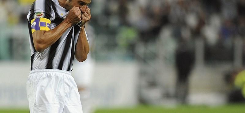 Hiába a csodagól, Del Piero nem kell a Juvénak