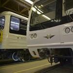 Újabb gányolást fotóztak le az egyik felújított orosz metrókocsin