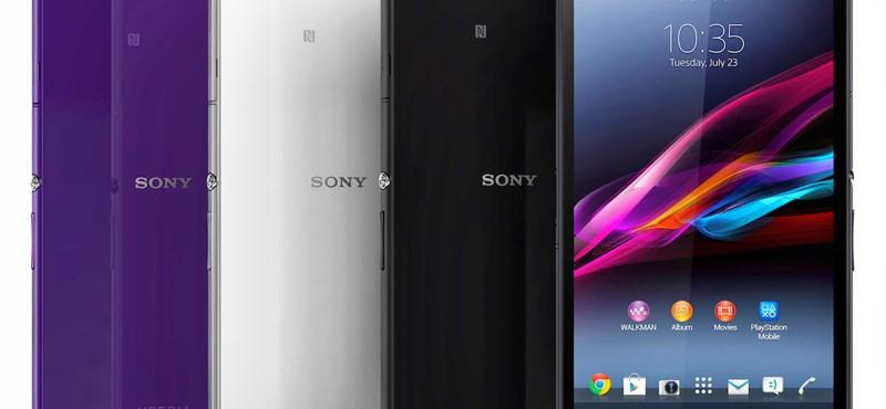 Hatalmas mobilt mutatott be a Sony