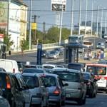 Több órás forgalom korlátozás van az M3-as kivezetőjén