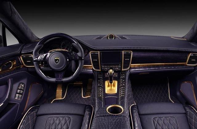 Porsche Panamera krokodil