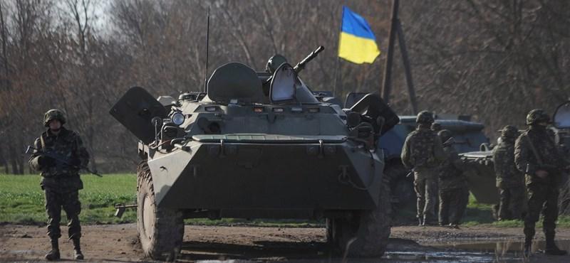 Elavult haditechnikát kaphattak az ukránok az USA-tól