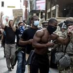 Kevésbé erőszakosan folytatódtak a George Floyd halála miatti tüntetések