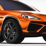Teljes pompájában a 650 lóerős Lamborghini sportterepjáró