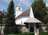 With love from Transylvania: The reverend wears a tree with the villagers to create community