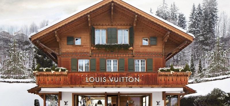 A síelőket is behálózza a Louis Vuitton