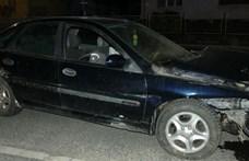 Pechje volt a részeg sofőrnek: hiába menekült el a baleset helyszínéről, a rendszáma ott maradt