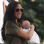 Túl van az első kocsmázáson Harry herceg és Meghan Markle négy hónapos fia