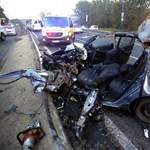Súlyos baleset történt a ferihegyi gyorsforgalmin