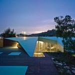 Trükkös origami-ház a domboldalon (fotókkal)