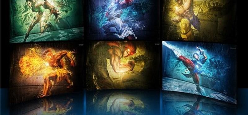 Fantasztikus Street Fighter Tekken háttérképek!