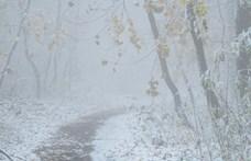 Újabb megyékre adtak ki figyelmeztetést – 20 centinél több hó eshet