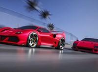 Végre egy gyönyörű új Ferrari, amely méltó az F40 emlékéhez