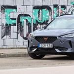 Teszten a VW új márkájának első saját modellje, a 310 lovas Cupra Formentor
