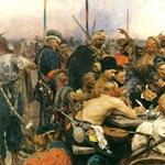 A zaporozsjei kozákok levelet írnak Kerényi Imrének