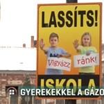 Helyi óvodások és iskolások fényképével igyekeznek megfékezni a gyorshajtókat Kőszegen