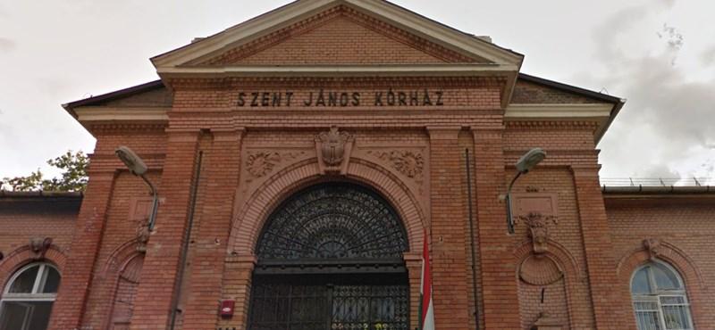 Beázott és veszélyes a Szent János Kórház műtője