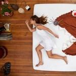 Paplan, zokni és párna - ezek a takaróművészet kellékei