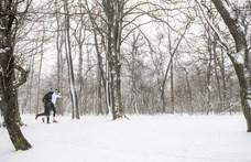 Havazásveszélyre figyelmeztet az OMSZ, 5 centinél is több hó hullhat az északkeleti megyékben
