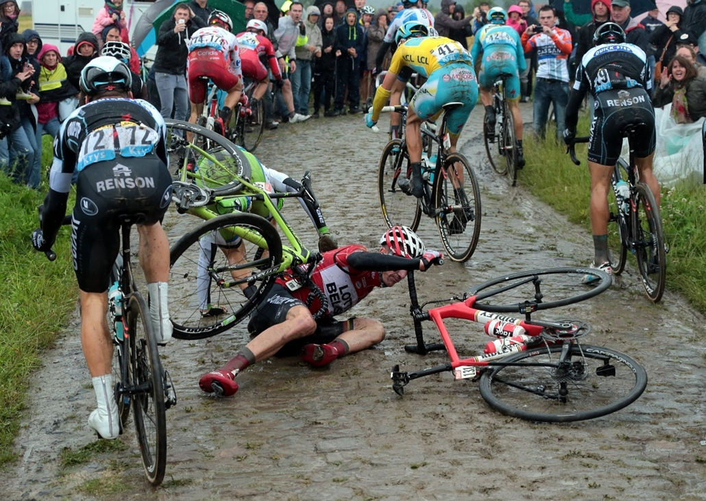 afp.14.07.09. - Ieper, Belgium: Jurgen Van Den Broeck - Tour de France, 5. szakasz