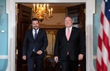 Matteo Salvini az amerikai alelnökkel találkozott, de Trumpnak udvarolt