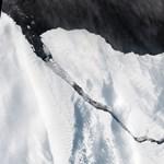 Már a műholdképeken is látni a London méretű jéghegyet, ami leszakadt az Antarktiszról