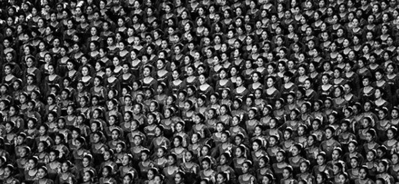 Hatszor utazott Észak-Koreába, több mint 50 fotót tudott kijuttatni a francia fényképész (fotók)