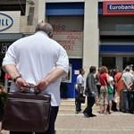 Ma még életben hagyták a görög bankokat