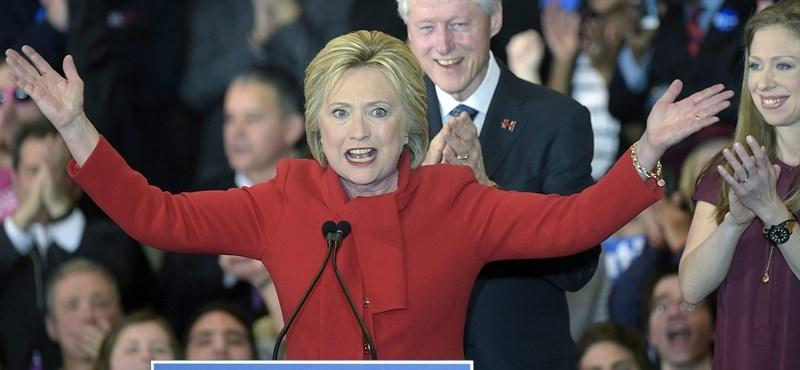 Paraszthajszállal nyerte Hillary Clinton az iowai ütközetet