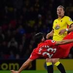 A Liverpool német légiósa az év gólját ollózta a Premier League-ben