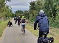 Felavatta a Kerékpárosklub a szentendrei bicikliutat
