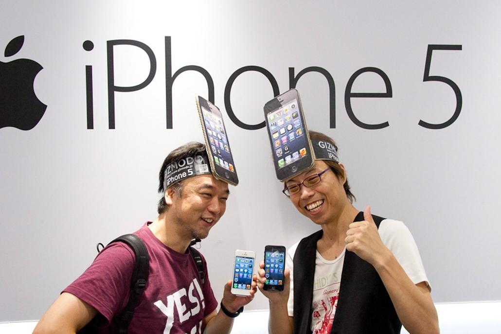 iPhone 5, hét képei