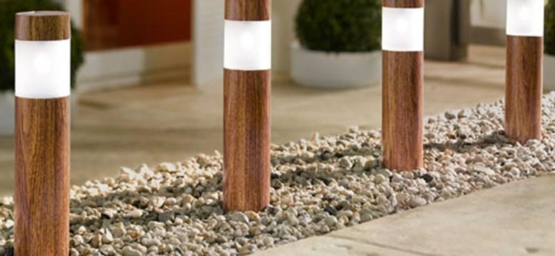 7 izgalmas napelemes kerti lámpa