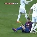 """""""Ekkora idiótát"""", Pepe durva és alattomos akciója Messi ellen - videó"""