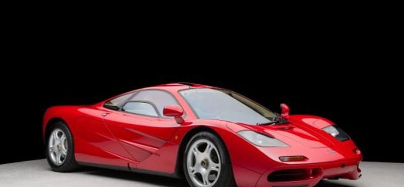 10 millió dollárt adtak egy közúti McLaren sportkocsiért