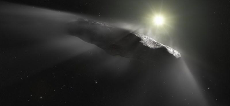 Most akkor ufó vagy nem? Idegenek küldték? Egyre több a rejtély a hosszúkás üstökös körül