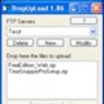 Fájlok feltöltése FTP-re, egyetlen dobással