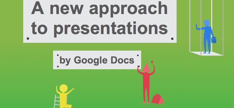 Megújult a Google Docs prezentációs alkalmazása