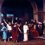 Visszavitték Debrecenbe a Krisztus Pilátus előtt című képet