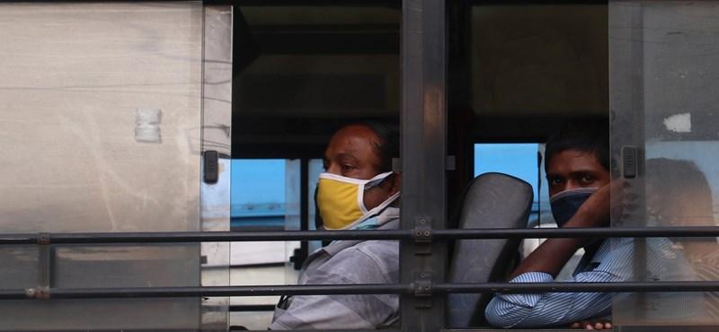 Térképen a járvány utóbbi két hete: egymillió új fertőzött csak Indiában