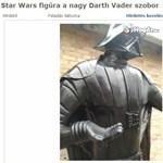 Egy életnagyságú Darth Vader a kertbe? – a legőrültebb Star Wars relikviák