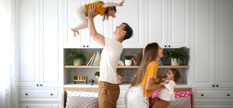 A család folyamatosan fejlődő egység