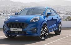 Sportos kis divatterepjáró: megérkezett a Ford Puma