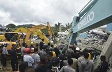 Földrengés pusztított Indonéziában, több mint 600 ember megsérült