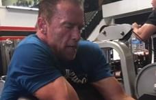 Schwarzenegger a magyar birkózóknak szurkol